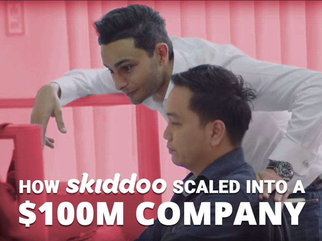 Learn how Skiddoo scaled into a $100M company